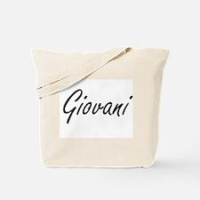 Giovani Artistic Name Design Tote Bag
