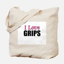 I Love GRIPS Tote Bag