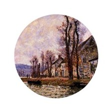 Monet painting - The Bend of the Seine Button