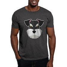 Cartoon Schnauzer T-Shirt