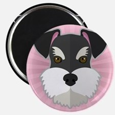 Cartoon Schnauzer Magnet