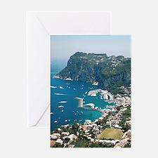 Italy, Capri  Greeting Card
