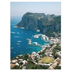 Italy, Capri  Canvas Art