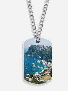 Italy, Capri  Dog Tags