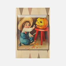 TLK009 Halloween Boy Rectangle Magnet