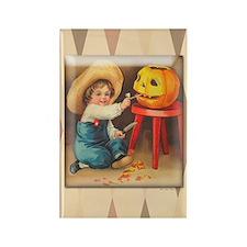 TLK009 Halloween Boy Rectangle Magnet (100 pack)