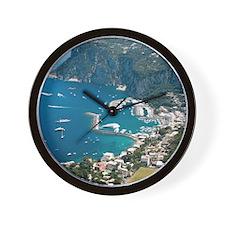 Italy, Capri Wall Clock