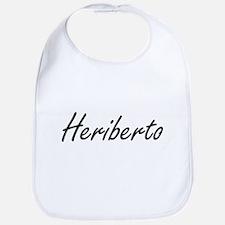 Heriberto Artistic Name Design Bib