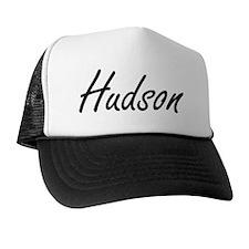 Hudson Artistic Name Design Trucker Hat