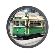 Melbourne Australia Tram Wall Clock