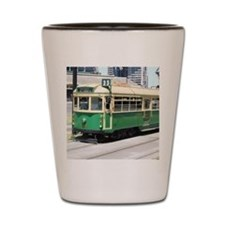 Melbourne Australia Tram Shot Glass