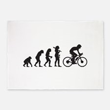 Cycling 5'x7'Area Rug