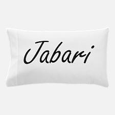 Jabari Artistic Name Design Pillow Case