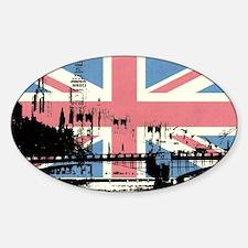 London Jacked Sticker (Oval)
