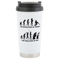 Curling Travel Coffee Mug