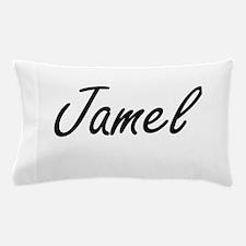 Jamel Artistic Name Design Pillow Case