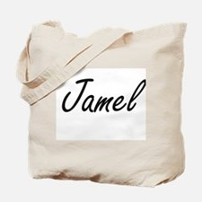 Jamel Artistic Name Design Tote Bag