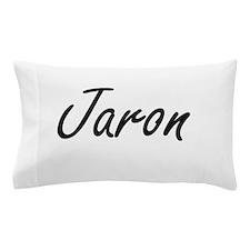 Jaron Artistic Name Design Pillow Case