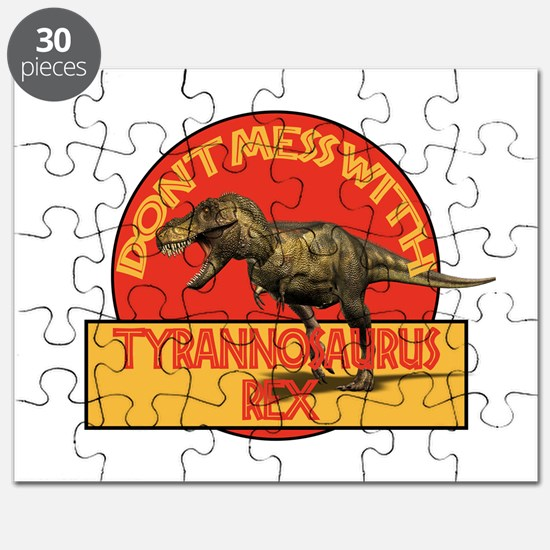 Don't Mess with T-rex Puzzle