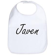 Javen Artistic Name Design Bib
