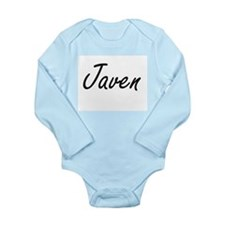Javen Artistic Name Design Body Suit