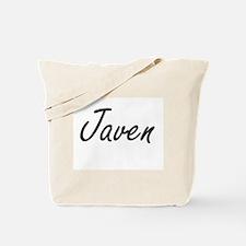 Javen Artistic Name Design Tote Bag
