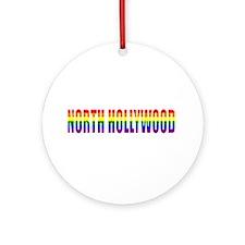 North Hollywod Ornament (Round)