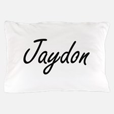 Jaydon Artistic Name Design Pillow Case