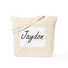 Jaydon Artistic Name Design Tote Bag