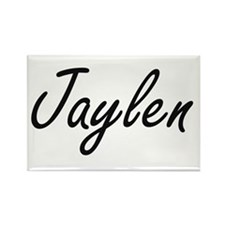 Jaylen Artistic Name Design Magnets