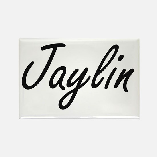 Jaylin Artistic Name Design Magnets