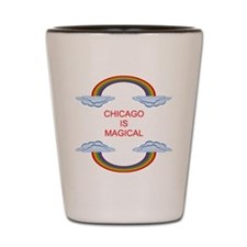 Chicago is Magical Shot Glass