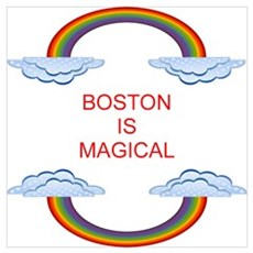 Boston is Magical Poster