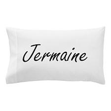 Jermaine Artistic Name Design Pillow Case