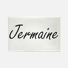 Jermaine Artistic Name Design Magnets