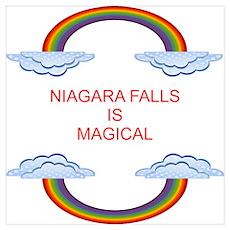 Niagara Falls is Magical Poster