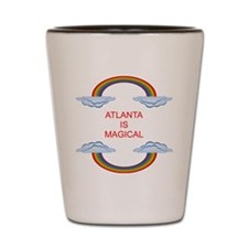 Atlanta is Magical Shot Glass