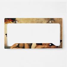 Sistine Madonna Angels by Rap License Plate Holder