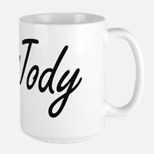 Jody Artistic Name Design Mugs