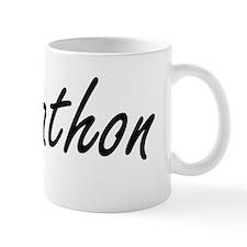 Johnathon Artistic Name Design Small Mug