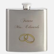 FUTURE MRS. EDWARDS Flask