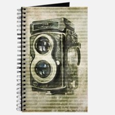 photographer retro camera Journal