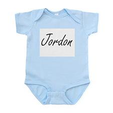 Jordon Artistic Name Design Body Suit