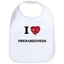 I Love Preparedness Bib