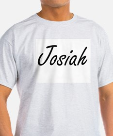 Josiah Artistic Name Design T-Shirt