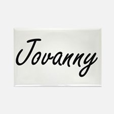 Jovanny Artistic Name Design Magnets