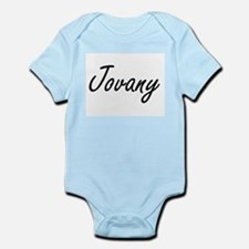 Jovany Artistic Name Design Body Suit
