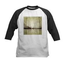 abstract landscape winter trees Baseball Jersey