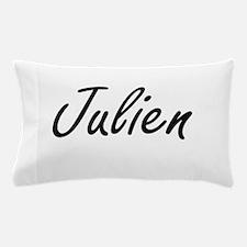 Julien Artistic Name Design Pillow Case