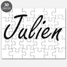 Julien Artistic Name Design Puzzle